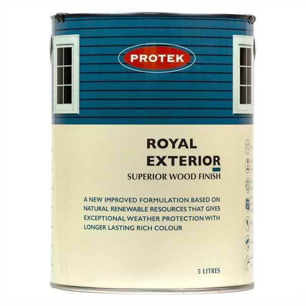 Protek Protek Royal Exterior Wood Finish