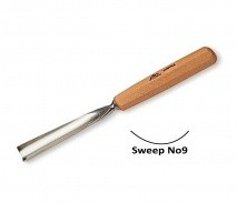 Stubai Stubai 6mm Straight Carving Gouge No9 Sweep