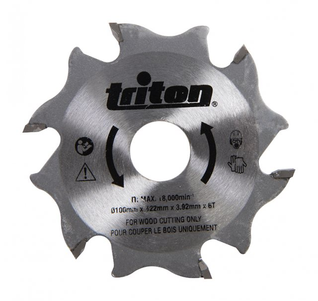 Triton Biscuit Jointer Blade 100mm TBJC Replacement Blade
