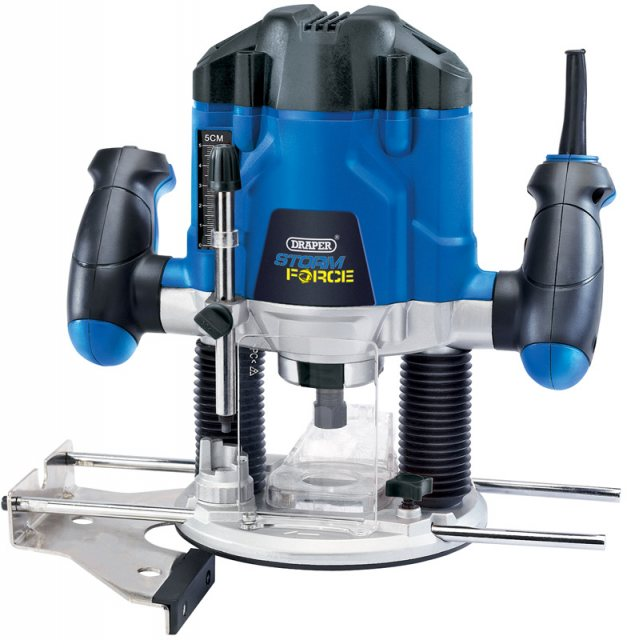 Draper Draper Storm Force Variable Speed Router Kit (1200W)