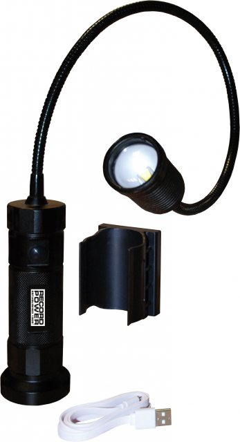 Record Power Record Power Magnetic LED Work Light with Flexible Neck