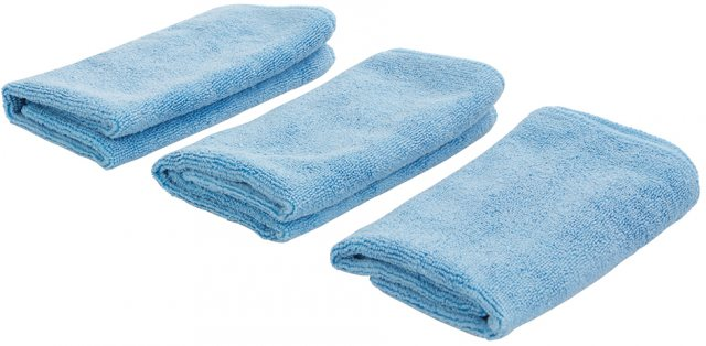 Silverline Microfibre Cloth Cleaning Set 3pce 3pce