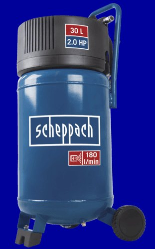 Scheppach 30 L VERTICLE COMPRESSOR - OIL-FREE, 2.0 HP