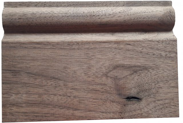 Yandles Black Walnut Skirting Torus