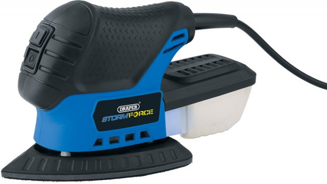 Draper Storm Force Tri-Palm Sander (75W)