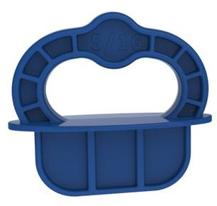Kreg Deck Jig? Spacer Rings - Blue - 5/16'