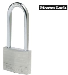 Master Lock Aluminium 50mm Padlock 5-Pin - 64mm Shackle