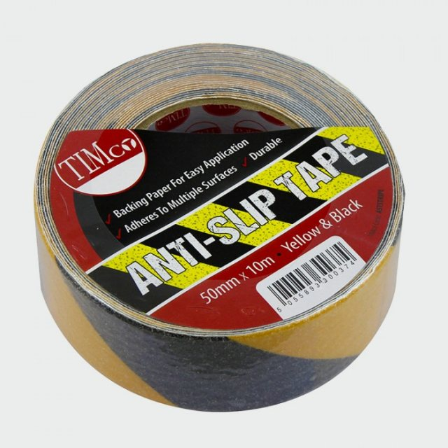 Timco Anti Slip Tape - Black/Yellow