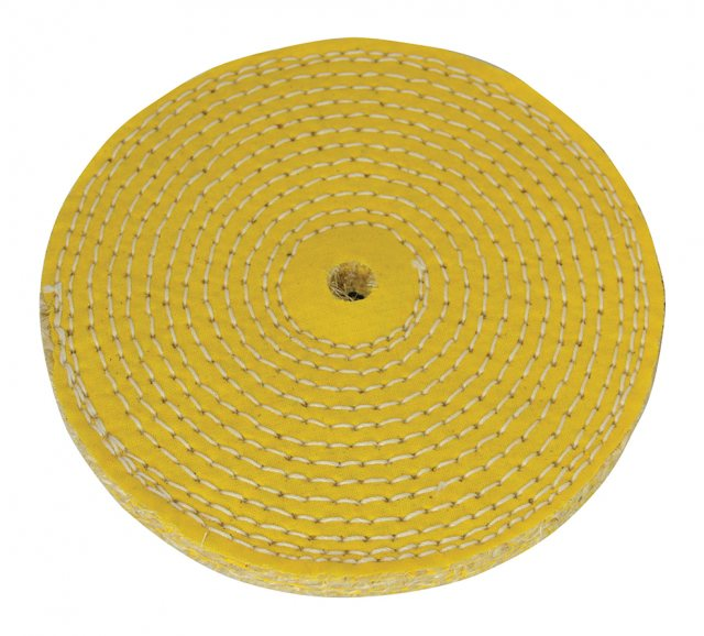 Silverline Sisal Buffing Wheel 150mm
