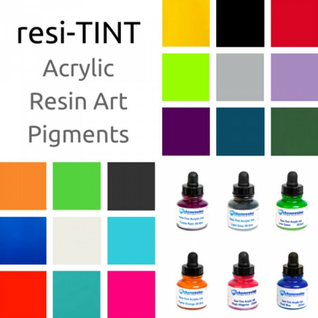 Eli-Chem Resins resi-TINT Acrylic Resin Art Pigments