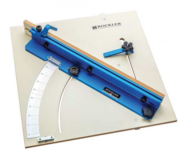 Rockler Tablesaw Cross Cut Sled 23-3/4' x 23-3/4'
