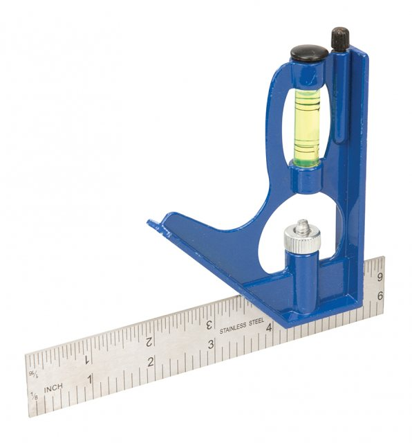 Silverline Combination Square 150mm