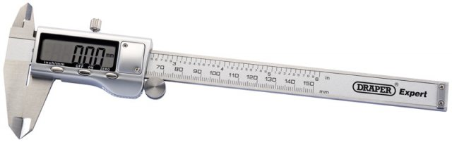 Draper Dual Reading Digital Vernier Caliper (150mm)