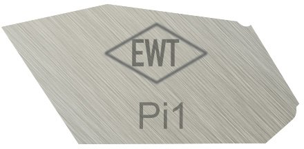 EASY WOOD TOOLS Pi1 PARTING CUTTER - 1/8' Wide