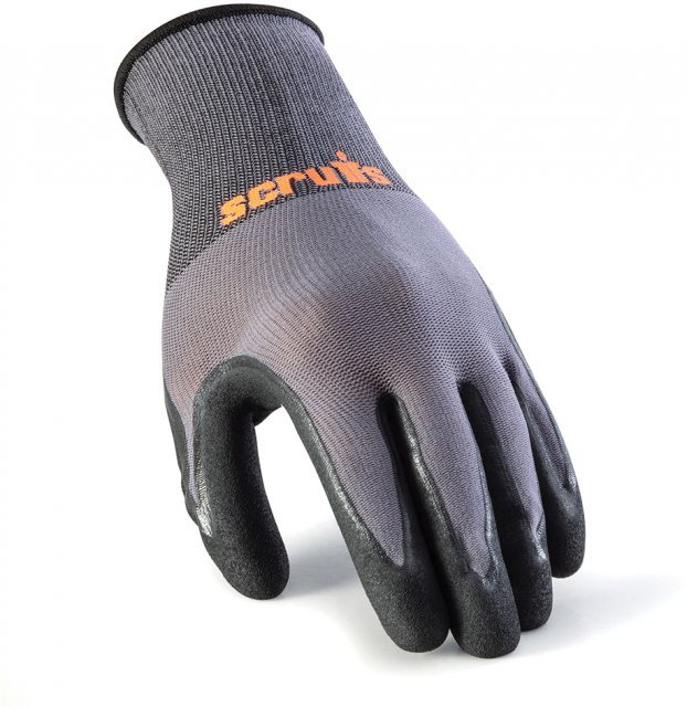 Scruffs Worker Gloves 5pk L