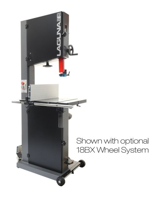 "Laguna Laguna 18BX 3HP 18"" Bandsaw With Ceramic Guides"