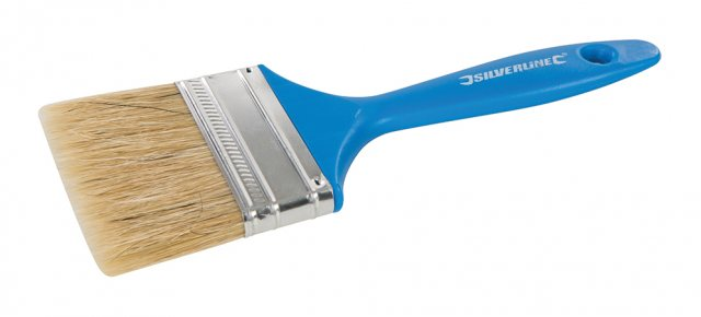 Silverline Disposable Paint Brush 75mm