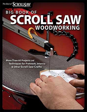 GMC Publications Big Book of Scroll Saw Woodworking
