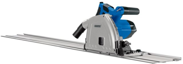 Draper 165mm Plunge Track Saw with Track & Rail (1200W)