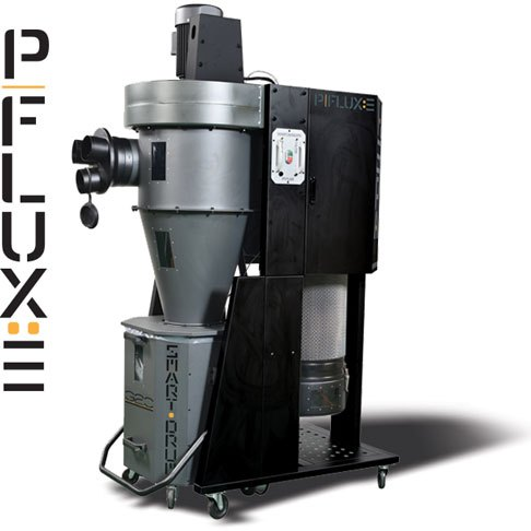 Laguna P Flux 3 HEPA Cyclone Dust Extractor with Fine Filter