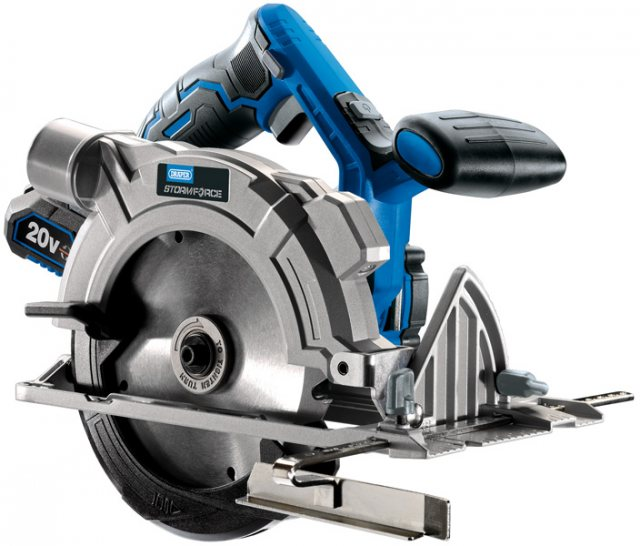Draper Storm Force 174; 20V Circular Saw - Bare
