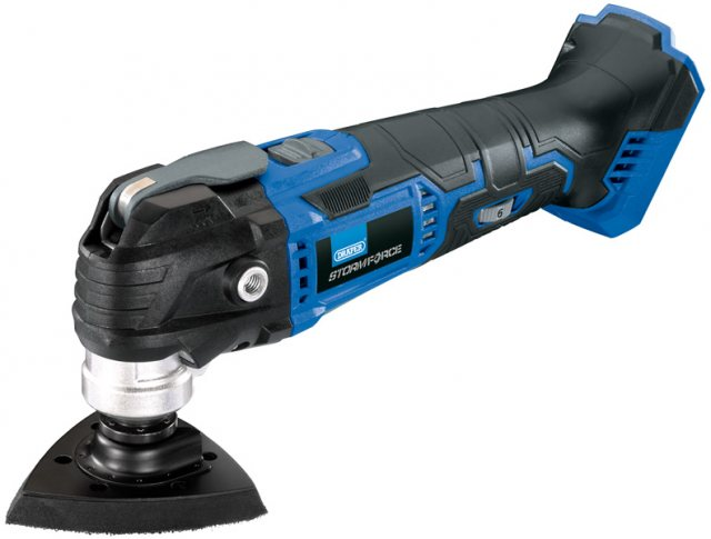 Draper Storm Force 174; 20V Oscillating Multi-Tool - Bare