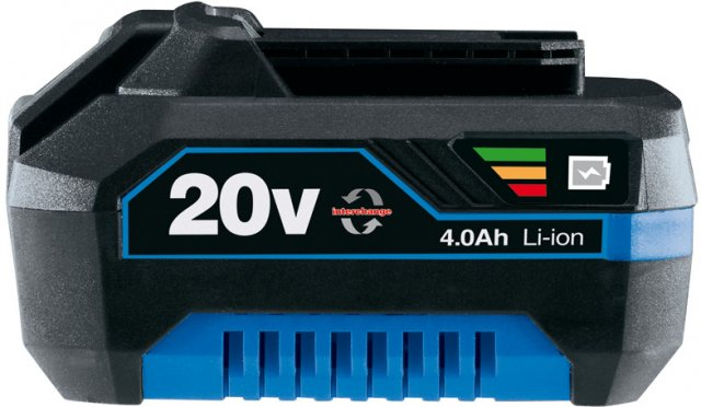 Draper Storm Force 174; 20V Li-ion Battery For Power Interchange Range (4.0AH)