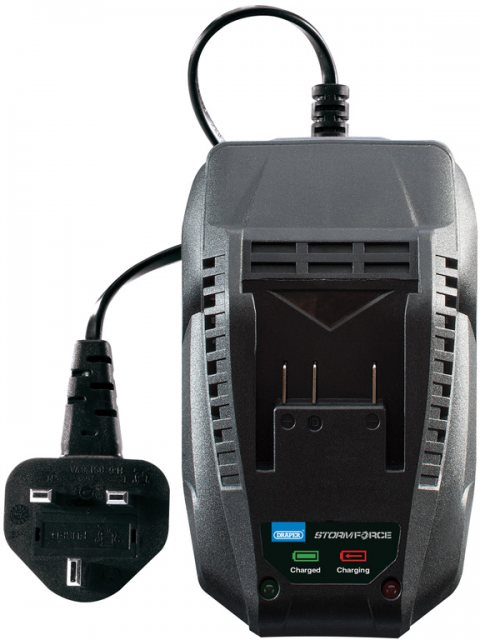 Draper Storm Force 174; 20V Charger For Power Interchange Range of Batteries