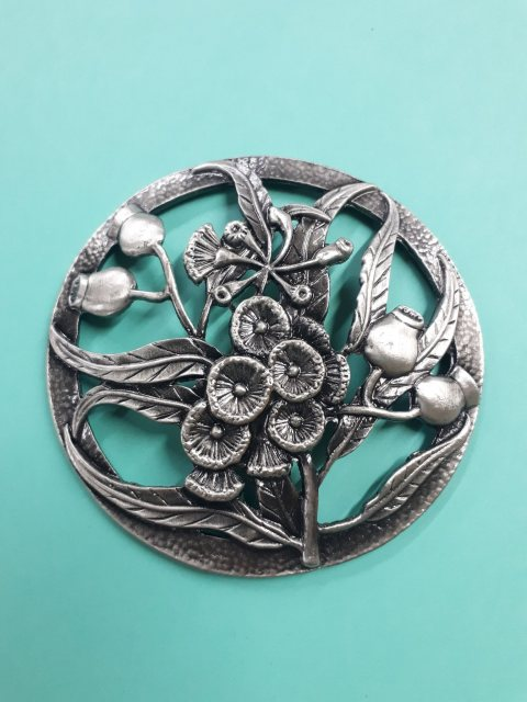 Craft Supplies Thistle Pewter Lid
