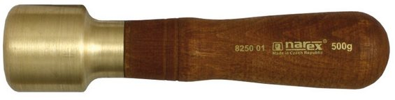 Narex  Narex Brass carving mallet 40 x 52 mm
