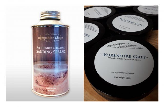 Hampshire Sheen Pre-Thinned Cellulose Sanding Sealer & Yorkshire Grit original PACK
