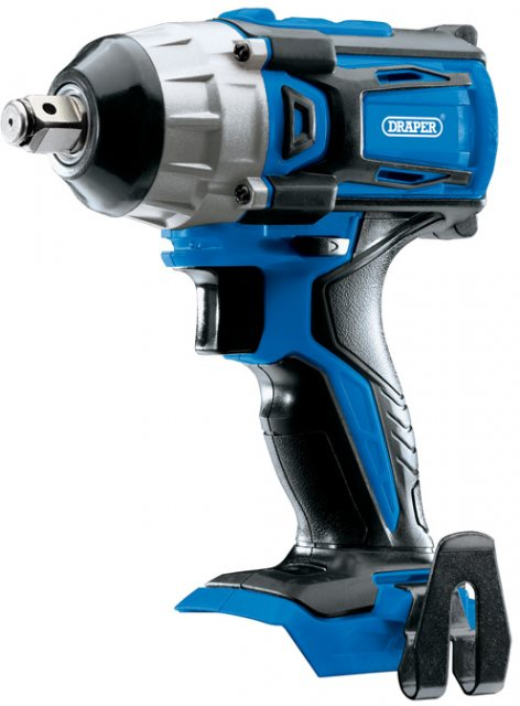 "Draper D20 20V Brushless 1/2"" Mid-Torque Impact Wrench - Bare"