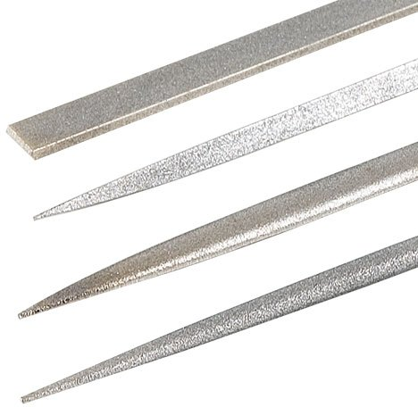 DIAMOND NEEDLE FILE 4 PACK FINE