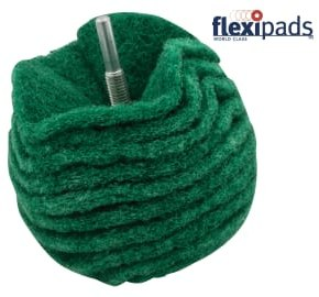 Flexipad Scruff Ball 75mm / 3in Green Medium