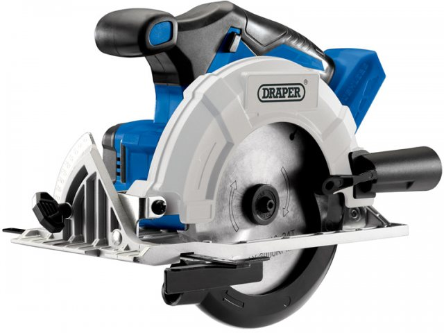 Draper D20 20V Brushless Circular Saw - Bare