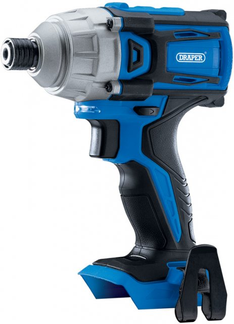 "Draper D20 20V Brushless 1/4"" Impact Driver - Bare (180Nm)"
