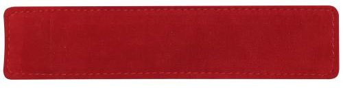 Charnwood Suede Effect Pen Sleeve - Red - Pack of 2