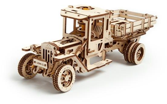 Ugears Ugears Truck UGM-11 Mechanical Wooden Model 3D Puzzle