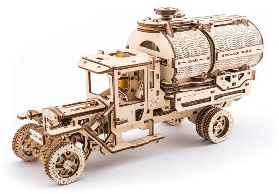 Ugears Ugears Tanker Mechanical Wooden Model 3D Puzzle
