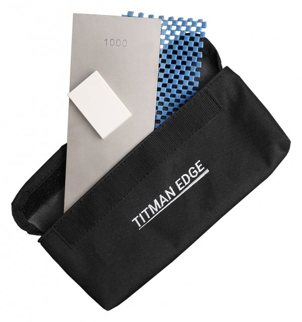 "Titman Edge Double sided diamond bench pro stone 8"" x 3"" 203 x 75 mm extra fine & coarse 1000/300 grit. Comes iw"
