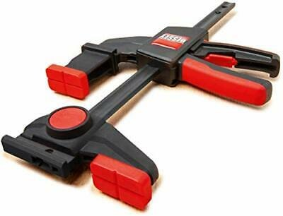 Bessey NEW Bessey One-Handed Cramp Guide Rail Clamp Set of 2 EZR15-6-SET!