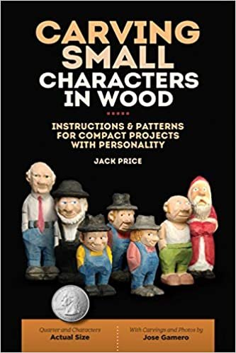 GMC Publications Carving Small Characters in Wood: Instructions & Patterns for Compact Projects with Personality