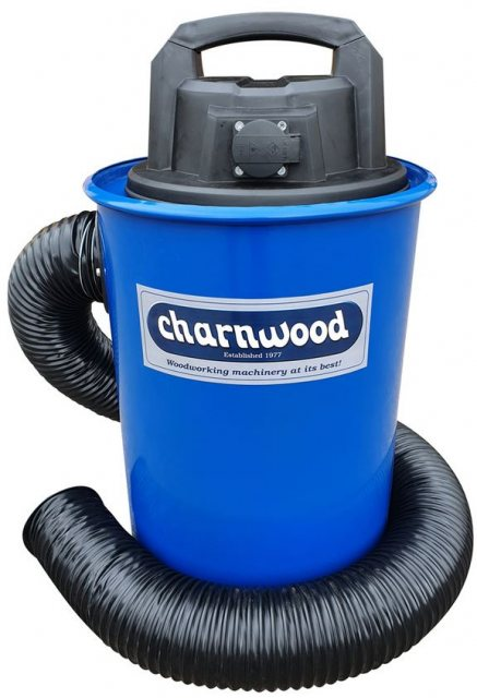 Charnwood Charnwood High Filtration Vacuum Extractor with Auto Start, 50L Capacity DC50AUTO