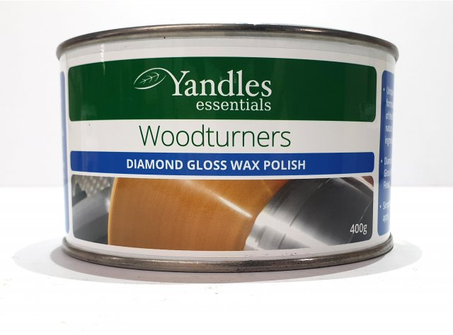 essentials Woodturners Diamond Gloss Wax Polish 400g