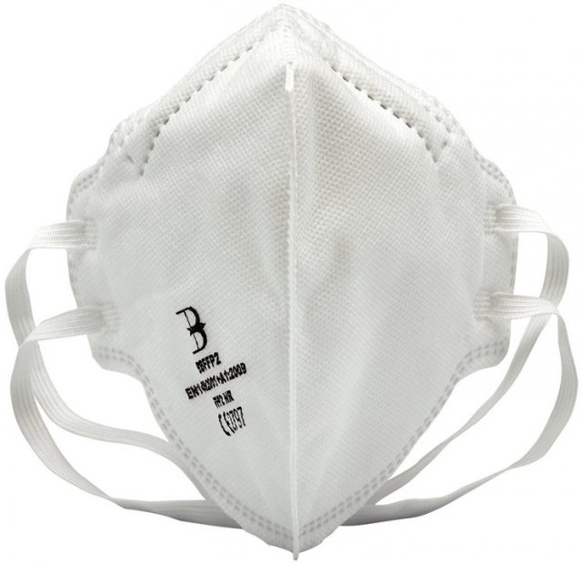 Draper FFP2 Fold Flat Mask SI MOD (Pack of 20) / Singles Available