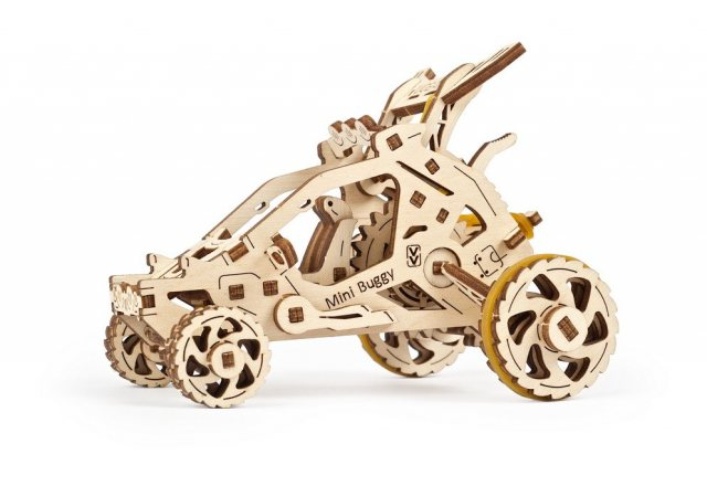 Ugears Ugears Mini Buggy Wooden Mechanical Kit