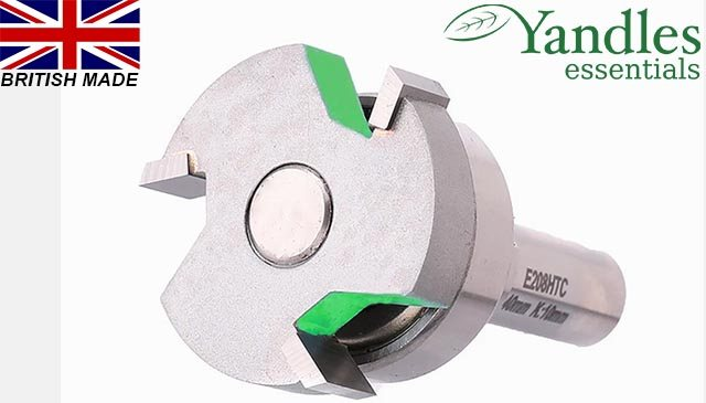 "essentials 1/2"" intumescent strip rebater, diameter 40mm, depth of cut 20mm, creates recess 4mm deep, bearing 3"