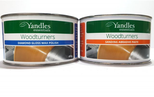 essentials essentials Woodturners Diamond Twin Pack - Wax Polish & Abrasive Paste Package Deal!
