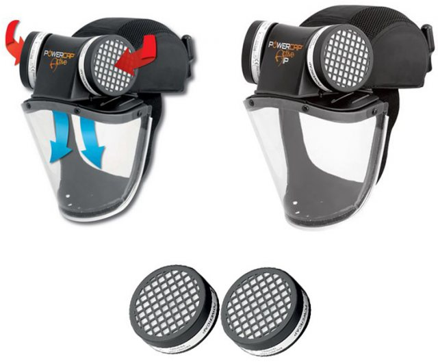 JSP Powercap Active IP Powered Respirator Impact Protection