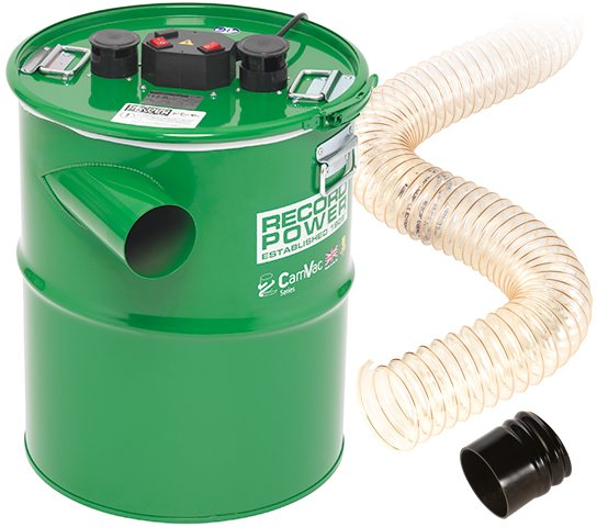 Record Power Record Power CamVac CGV386-5 Large Extractor with 2 Metres of Hose and Easy-Fit Cuff